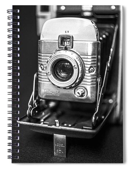 Vintage Polaroid Land Camera Model 80a Spiral Notebook
