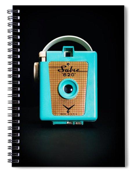 Vintage Sabre 620 Camera Spiral Notebook
