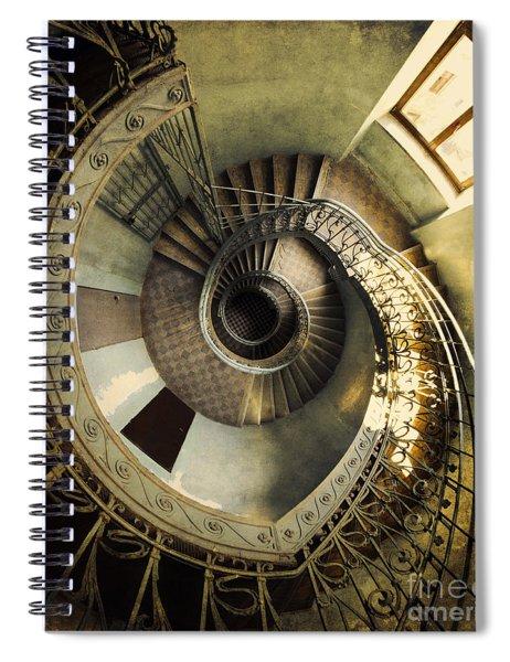 Vintage Spiral Staircase Spiral Notebook