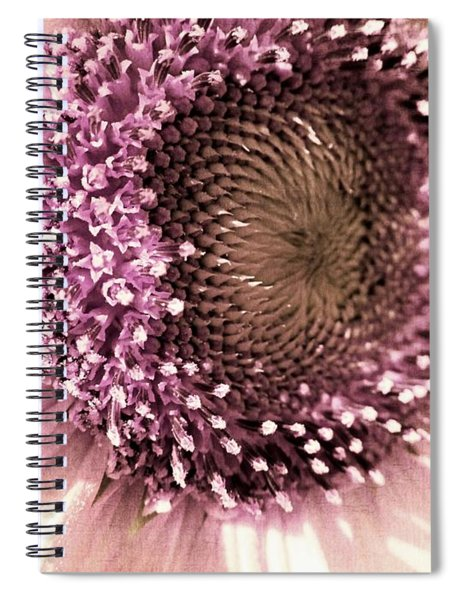 Vintage Sunflower  Spiral Notebook