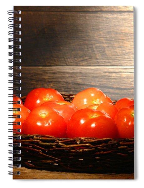 Vintage Tomatoes Spiral Notebook