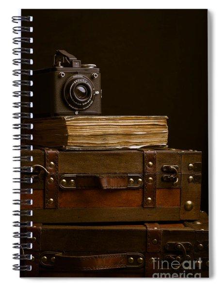 Vintage Travel Spiral Notebook