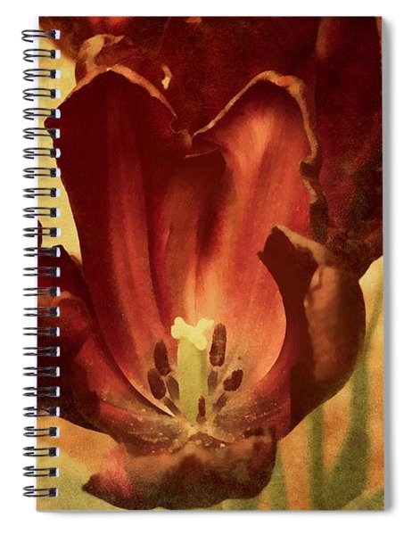 Vintage Tulips Spiral Notebook