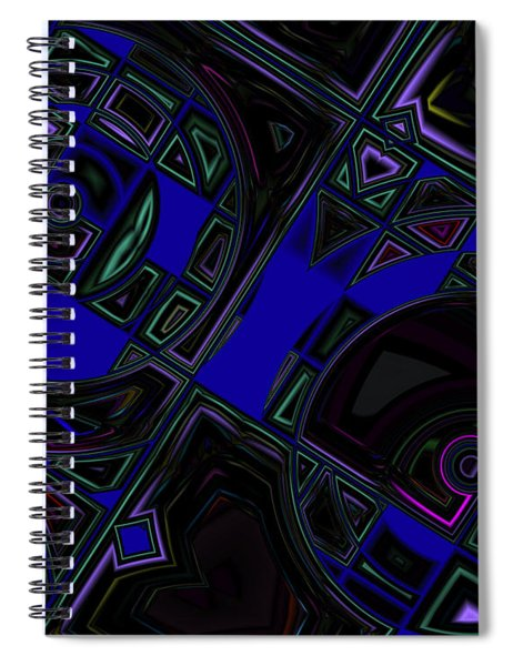 Vinyl Blues Spiral Notebook