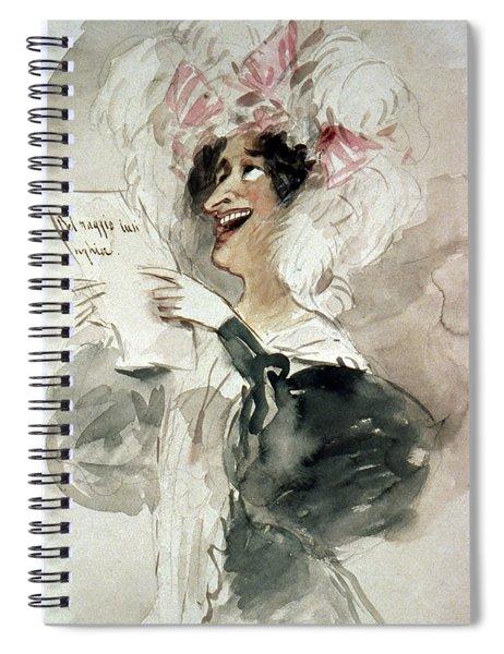 Violante Camporesi (1785-1839) Spiral Notebook