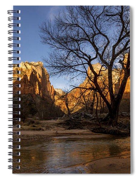 Virgin Reflection Spiral Notebook