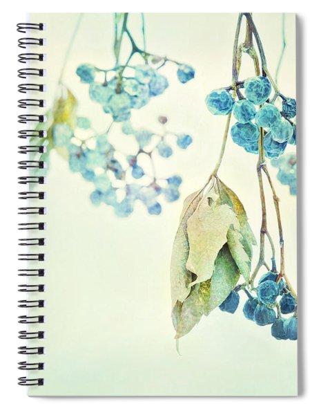 Virginia Creeper Berries Spiral Notebook