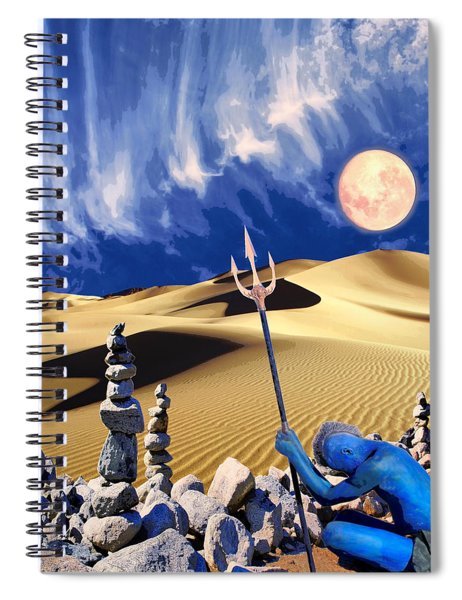 Vision Quest Spiral Notebook