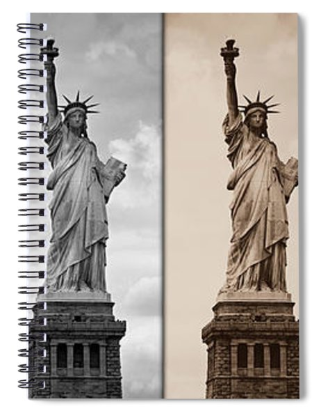 Visions Of Liberty Spiral Notebook