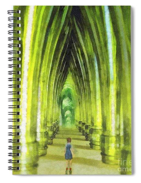 Visiting Emerald City Spiral Notebook