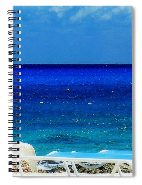 Vitamin Sea Spiral Notebook by Patti Whitten