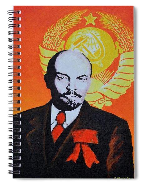 Vladimir Lenin Spiral Notebook