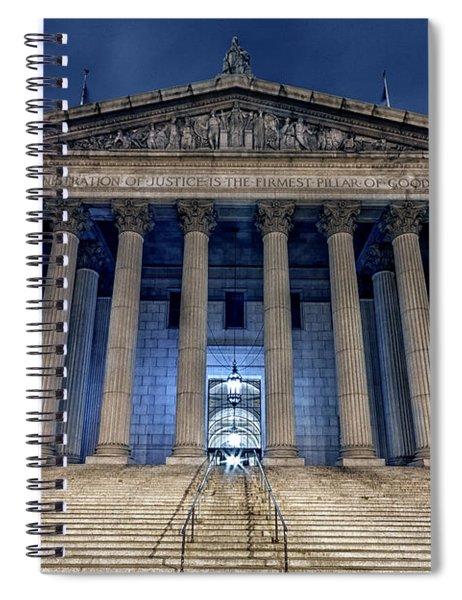 Voice Of Shadows Spiral Notebook