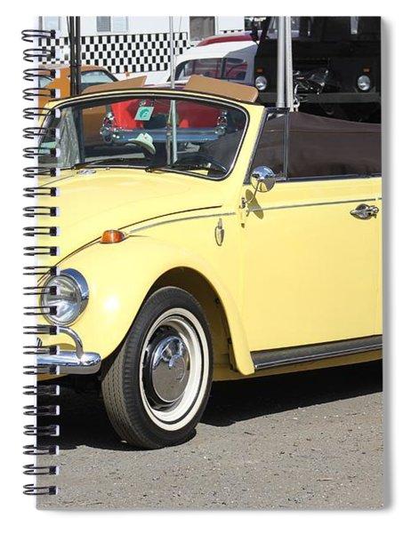 Volkswagen Convertible Vintage Spiral Notebook