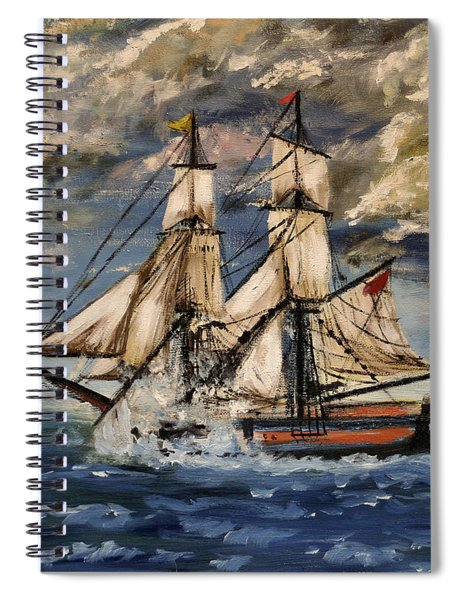 Voyage Of The Cloud Chaser Spiral Notebook