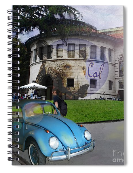 Vw - Uc Berkeley Spiral Notebook