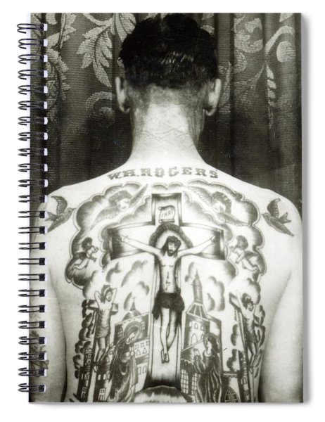 W H Rogers Clarksville Tennessee Spiral Notebook