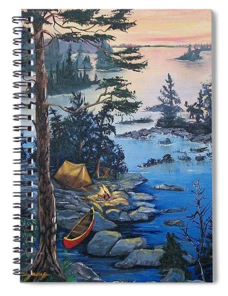 Wabigoon Lake Memories Spiral Notebook