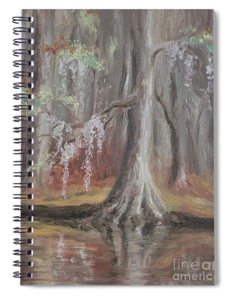 Waccamaw River Cypress Spiral Notebook