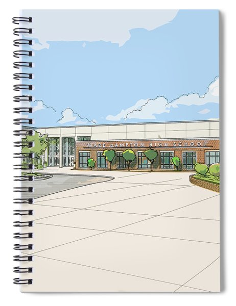Wade Hampton High School Spiral Notebook