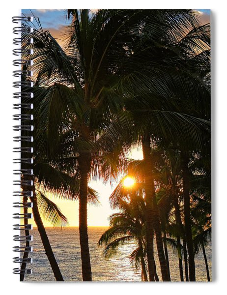 Waikoloa Palms Spiral Notebook