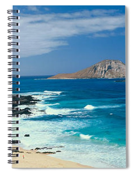 Waimanalo Bay, Oahu, Hawaii Spiral Notebook