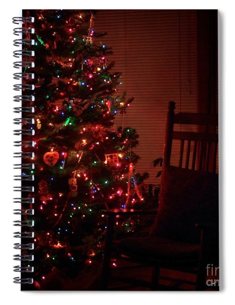 Waiting For Christmas - Square Spiral Notebook