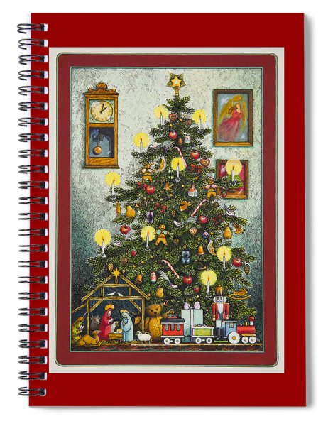 Waiting For Christmas Morning Spiral Notebook