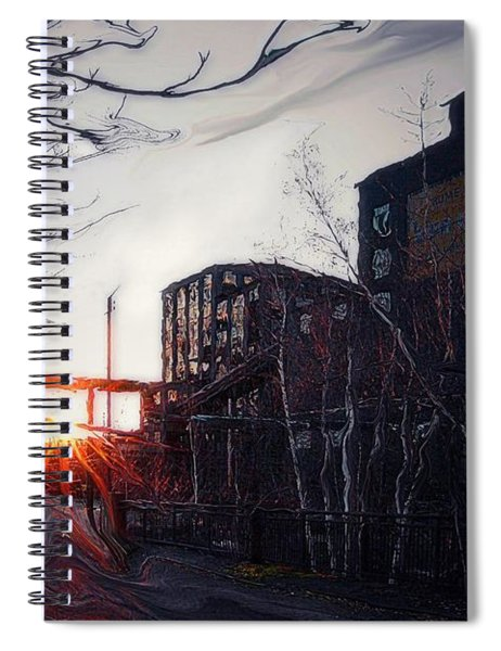 Waiting For Spring... Spiral Notebook
