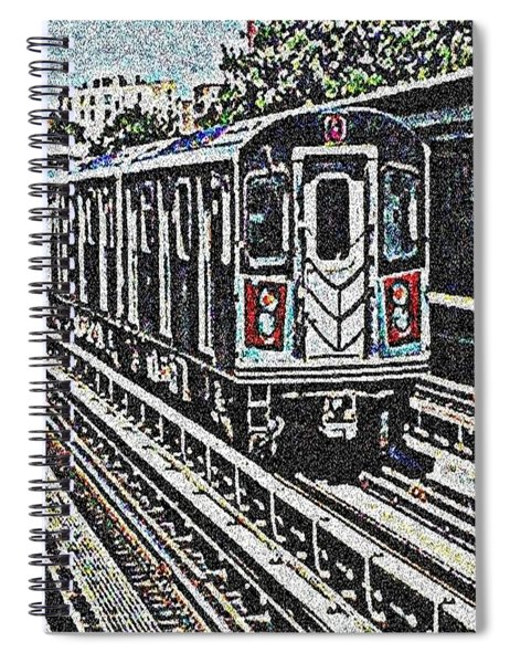 Waiting For The Sardine Can Spiral Notebook