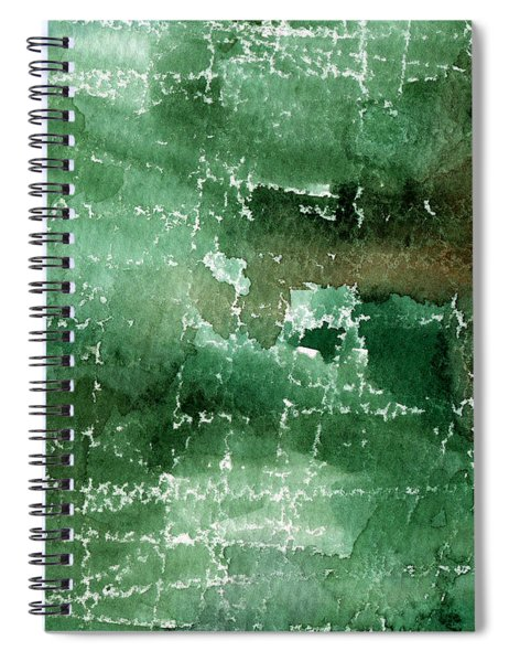 Walk In The Park Spiral Notebook by Linda Woods