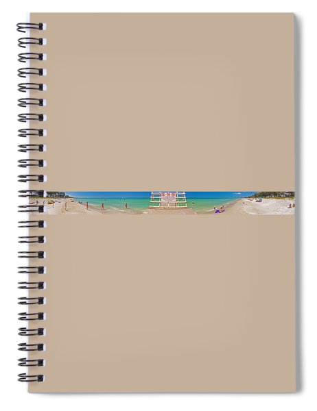 Walk Into Water Spiral Notebook