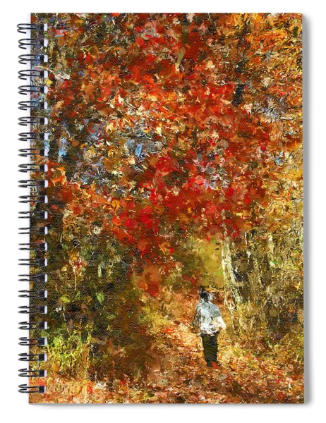 Walk On The Wild Side Spiral Notebook