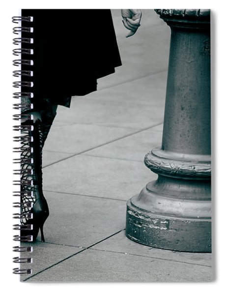 Walk This Way Spiral Notebook
