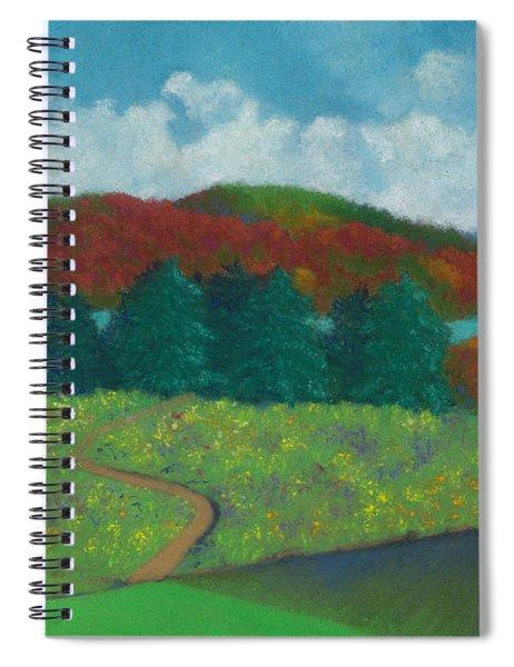 Walking Meditation Spiral Notebook