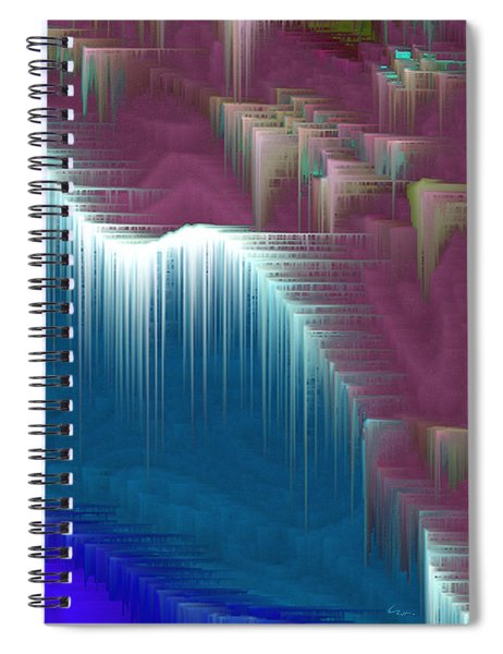 Walking On Air Spiral Notebook