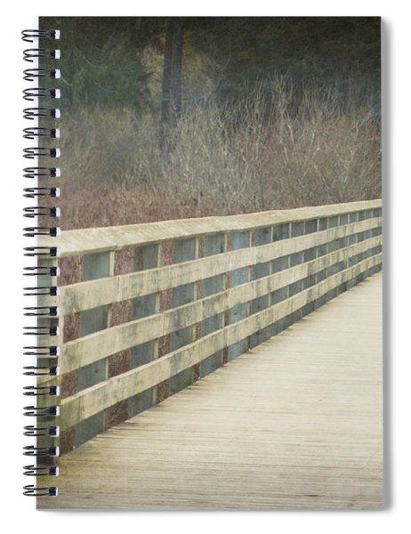 Walking Softly Spiral Notebook