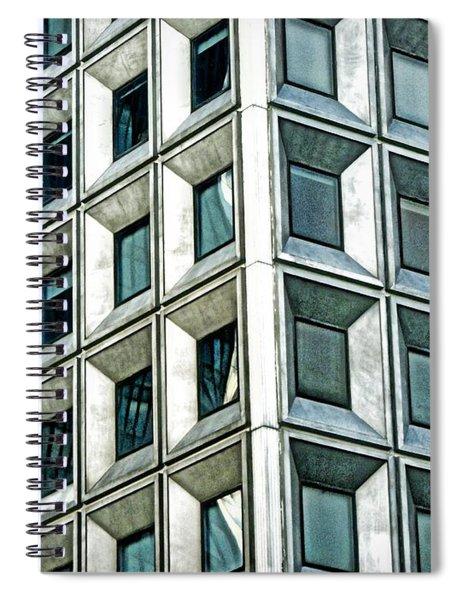 Wall Street Building Spiral Notebook