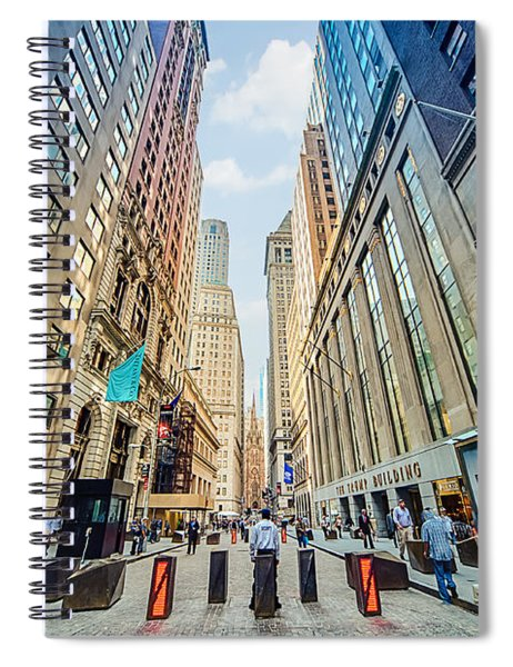 Wall Street Spiral Notebook