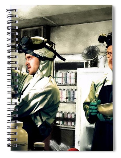 Walter White And Jesse Pinkman Spiral Notebook
