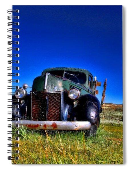 Wanna Ride - Bodie Ghost Town By Diana Sainz Spiral Notebook