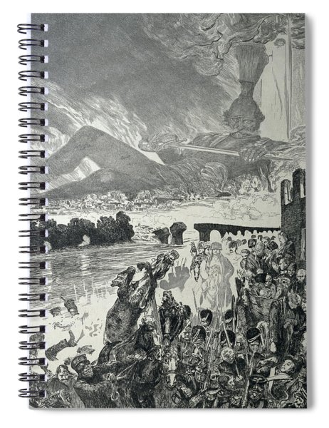 War 1910 Spiral Notebook