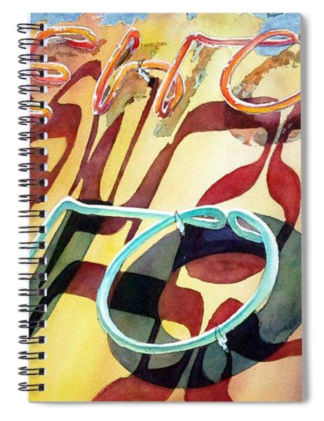 Warehouse Liquor Spiral Notebook
