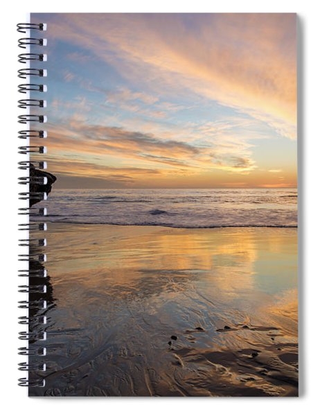 Warm Glow Of Memory Spiral Notebook