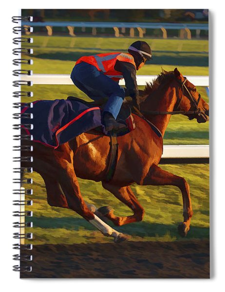 Morning Work Out Spiral Notebook