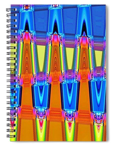 Warp Seven Spiral Notebook