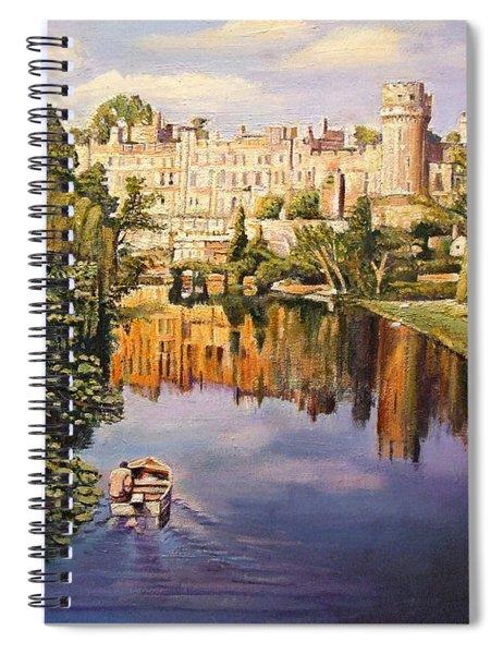 Warwick Castle, 2008 Oil On Canvas Spiral Notebook