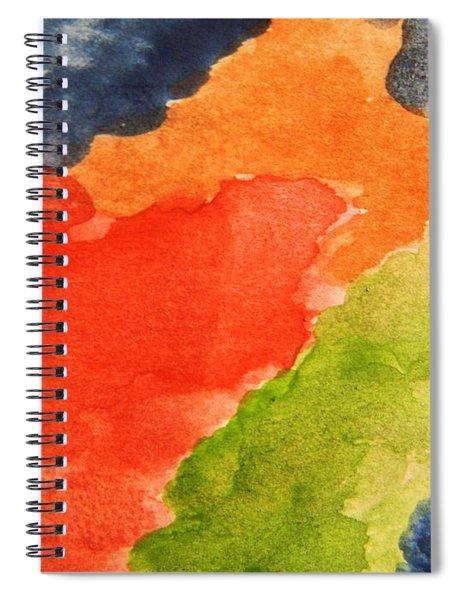Wash Away Spiral Notebook