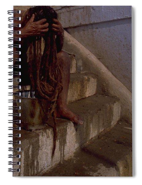 Varanasi Hair Wash Spiral Notebook