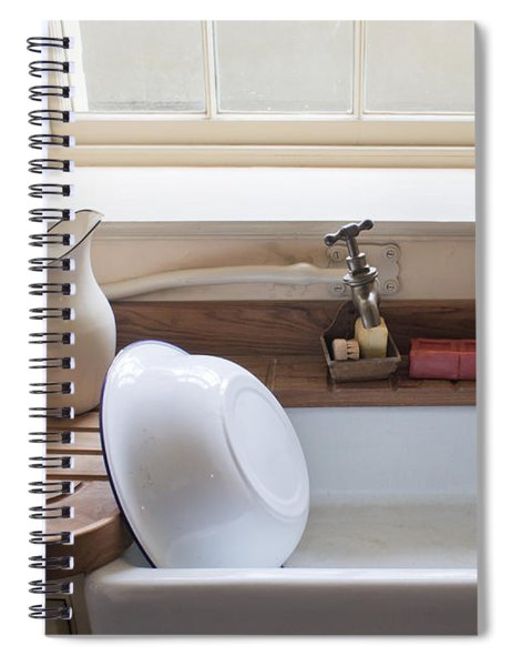 Washing Up Sink Spiral Notebook
